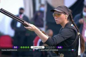 Алина Фазылзянова завоевала серебро на этапе Кубка мира по стендовой стрельбе