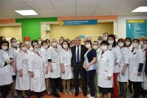 В Лениногорске после капремонта открыли детскую поликлинику