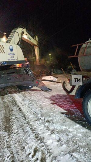 После ночной аварии в дома жителей Чистополя вернули воду