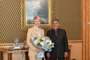 Минниханов обсудил поддержку одаренных детей с главой фонда «Талант и успех»