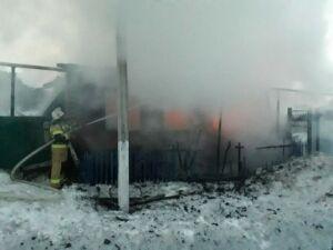 Одинокий мужчина погиб на пожаре в частном доме в татарстанском селе