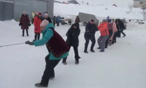 На горнолыжке в Дубъязах провели посвященный Году родных языков зимний Сабантуй
