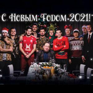 Новогодний клип ФК «Рубин» стал креативом года по версии Sport Business Awards