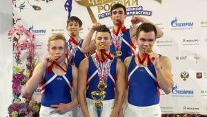 Спортсмены из РТ стали первыми чемпионами РФ по мужской художественной гимнастике