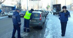 В среду вечером в Казани сотрудники ГИБДД будут ловить нарушителей парковки