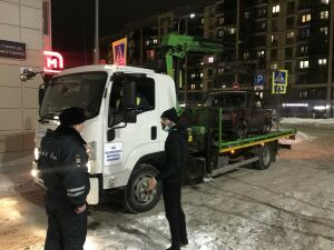 Казанца оштрафовали за авто, припаркованное под запрещающим знаком