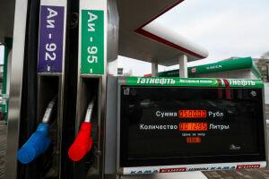 За последнюю неделю 92-й бензин в Татарстане подорожал на 24 копейки