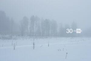 Из-за арктического вторжения к концу недели в Казань придут сильные морозы