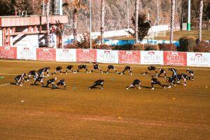 Футбольный клуб «Нефтехимик» начал второй тренировочный сбор в Турции