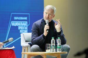 Валдис Пельш рассказал казанским студентам о старте карьеры и участии в КВН