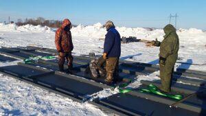 В Тюлячинском районе Татарстана начали строить зерносушильный комплекс