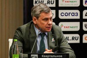Наставник «Ак Барса» рассказал, кто начнет плей-офф в качестве основного вратаря