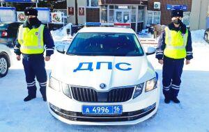 Автоинспекторы помогли челнинцу с раненым глазом добраться до больницы