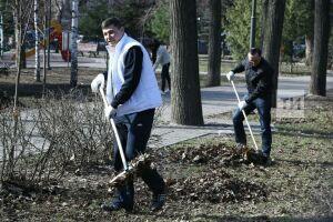 Общегородской субботник пройдет в Казани 24 апреля