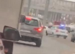 В Казани автоинспекторы задержали после погони сильно тонированную машину