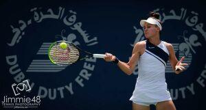 Кудерметова вышла в полуфинал теннисного турнира в ОАЭ в парном разряде