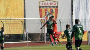 Футбольный «Нефтехимик» сумел свести вничью встречу с «Аланией»
