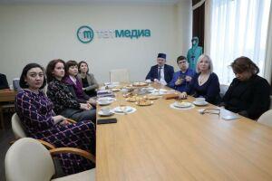 АО «Татмедиа» провело презентацию чувашских газет Татарстана для Минцифры Чувашии