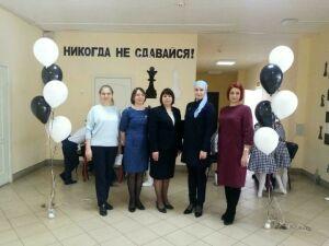 В одной из начальных школ Алексеевского района РТ открылась шахматная зона