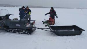 Спасатели в РТ помогли мужчине, которого парализовало на рыбалке из-за инсульта