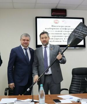 Олег Коробченко возглавил Федерацию гребли на байдарках и каноэ Татарстана