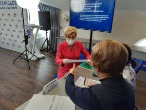 Ольга Павлова подала документы на участие в предварительном голосовании в Госдуму