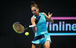 Вероника Кудерметова вышла в четвертьфинал теннисного турнира в Санкт-Петербурге