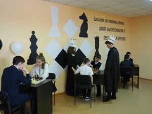 В Нурлатском районе открылась еще одна шахматная зона