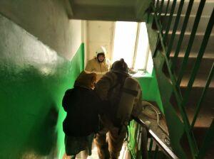 В пятиэтажке Зеленодольска второй раз за сутки вспыхнул пожар