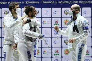 Италия выиграла мужской командный турнир на Кубке мира по фехтованию в Казани