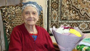 Бабушка из Зеленодольска по имени Милиция отпраздновала 95-летие