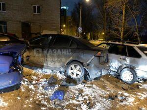 В Казани отстранили от служения диакона, разбившего в ДТП несколько авто
