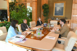 Минниханов обсудил развитие татарстанской музыки с лауреатом премии Президента РФ
