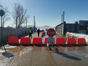 В Татарстане закрыли две последние ледовые переправы через Волгу