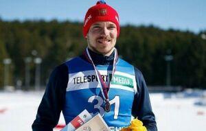 Андрей Ларьков второй раз выиграл бронзу на чемпионате России по лыжным гонкам