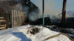 Дом жительницы Татарстана сгорел дотла, она, спасаясь, получила ожоги