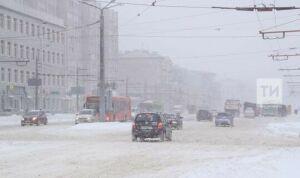 В Татарстане ожидаются небольшой снег и до 19 градусов мороза