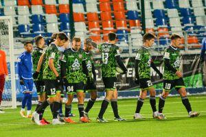 ФК «Нефтехимик» крупно выиграл первый домашний матч в новом году