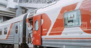 По маршруту Ижевск — Нижнекамск впервые в рейс вышел сдвоенный поезд