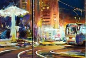 Художник Ильдус Муртазин представил 80 картин на выставке к 55-летию Нижнекамска