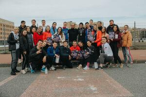 В забеге, посвященном Дню космонавтики, в Казани поучаствовали более 60 студентов