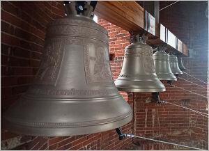 В челнинском храме модернизировали звонницу и установили новые колокола