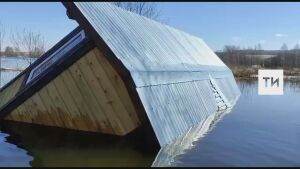 Затопленными в Муслюмовском районе РТ оказались владения местного предпринимателя