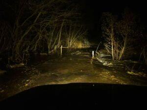 Под Казанью размыло единственную дорогу, ведущую к четырем поселкам