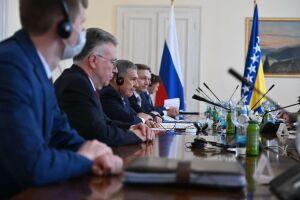 Минниханов встретился с лидерами Боснии и Герцеговины
