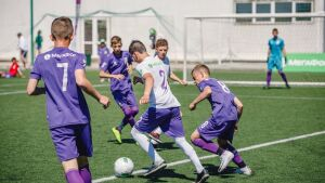 В Казани проходит всероссийский турнир по футболу среди детей из детских домов