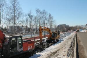 Теплосетевики Челнов сдадут новый трубопровод в районе «КамгэсЗЯБ» к июлю