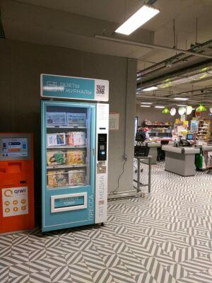 Первые аппараты по продаже изданий «Татмедиа» появились в магазинах «Пятерочка»