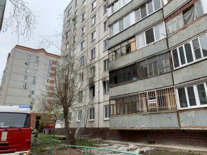 МВД по РТ: пожар в жилом доме в Казани произошел из-за возгорания пороха