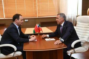 Две трети товарооборота Татарстана и Беларуси приходится на продукты нефтехимии